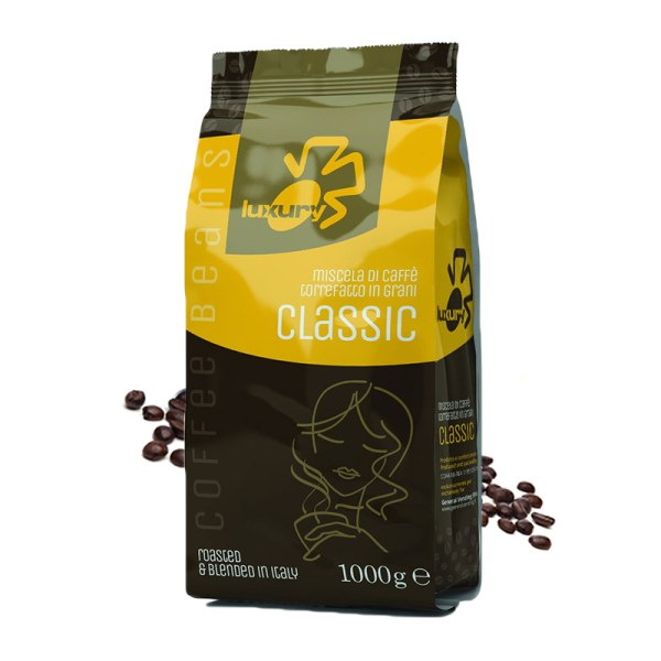 Luxury Classic cafea boabe 1kg
