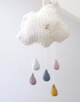 włóczkowa karuzelka chmurka Yo yarn