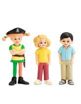 figurki Pippi, Tommy i Annika