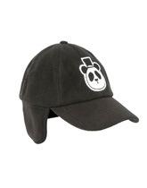czapka z daszkiem i nausznikami