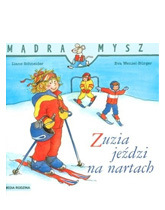 Zuzia jeździ na nartach