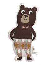 Poduszka z niedźwiedziem Ferm Living