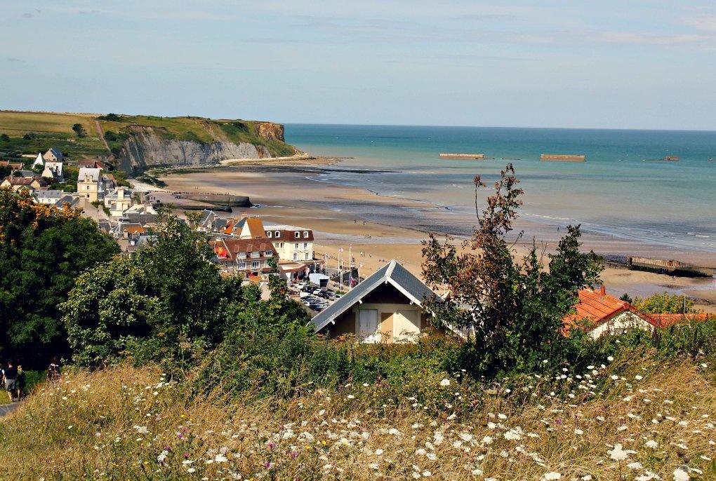 Arromanches Wakacje w Normandii -