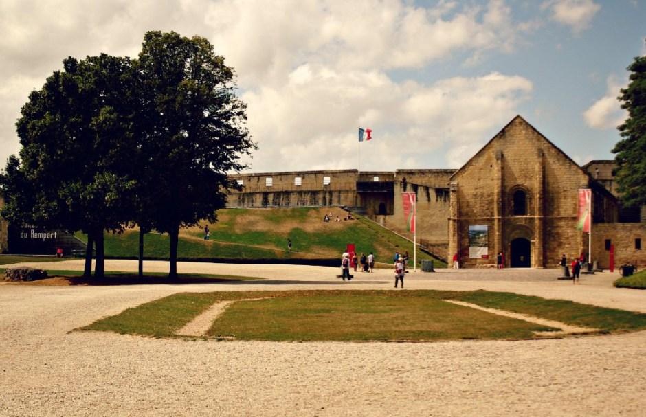 Zamek w Caen