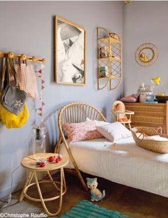 rattan toddler beds