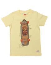 T-shirt z deskorolką