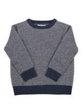 Sweterek granatowy