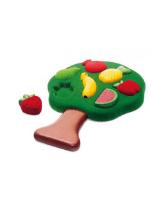 Sorter sensoryczny - puzzle owoce