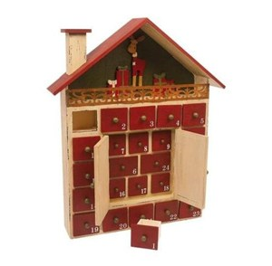 Kalendarz Zimowy domek