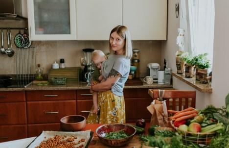 rodzinna kuchnia roślinna Mama na roślinach