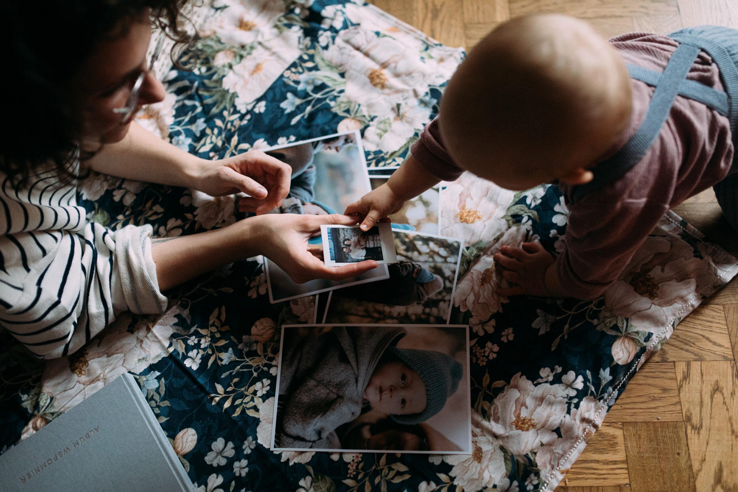 pierwszy wspólny rok z niemowlakiem