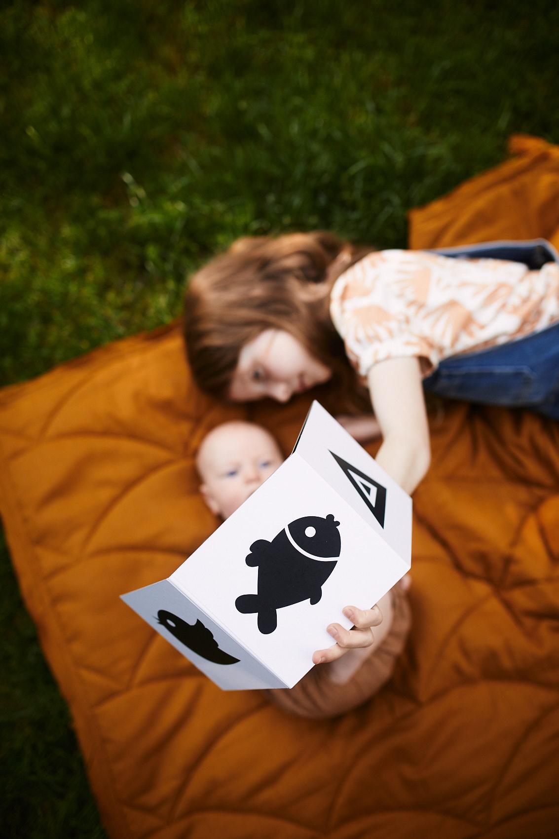 ksiazeczki kontrastowe dla niemowlat