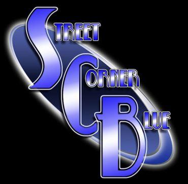 Street Corner Blue