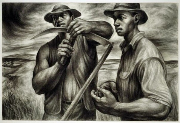 Charles White Charcoal workers