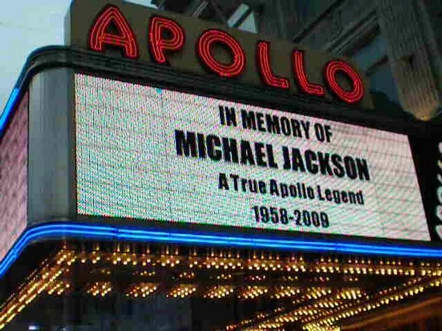 michael jackson at the apollo