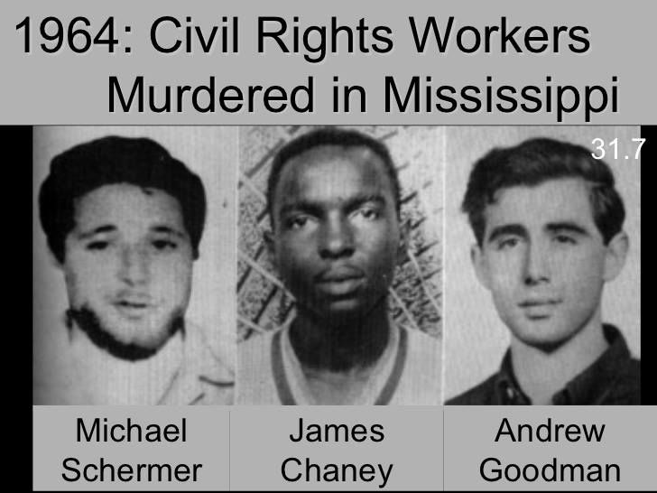 Civil Rights Workers murdered