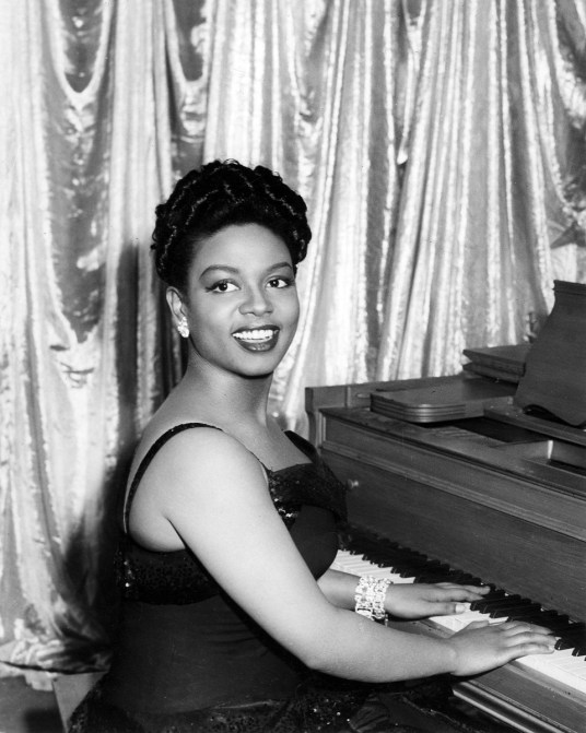 HAZEL SCOTT  US jazz  musician in 1944