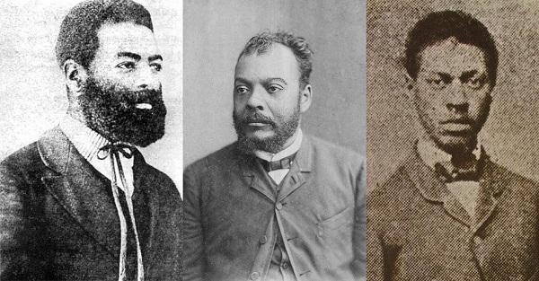 Luiz Gama Jose do Patrocinio e Andre Rebouças