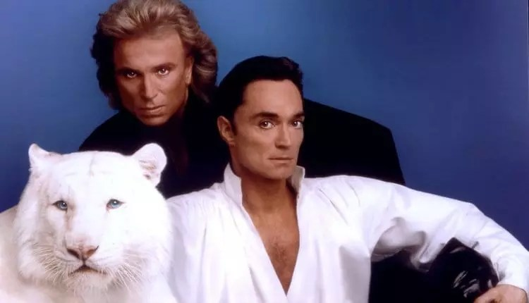 Crédito: Siegfried & Roy/ Divulgação The Mirage Resort via Getty Images