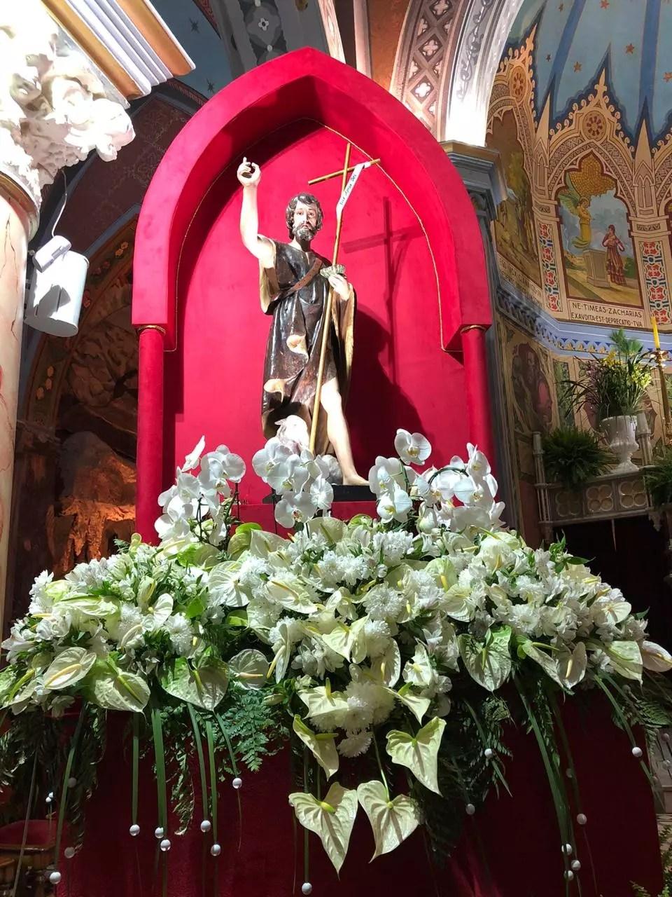 Padroeiro da cidade, São João é homenageado durante a festa