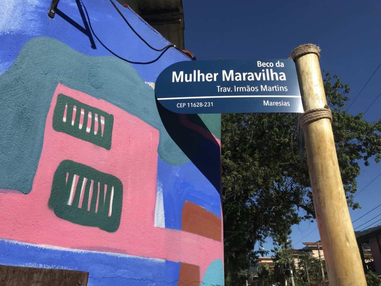 Beco da Mulher Maravilha, em Maresias (Andrea Miramontes / Lado B Viagem