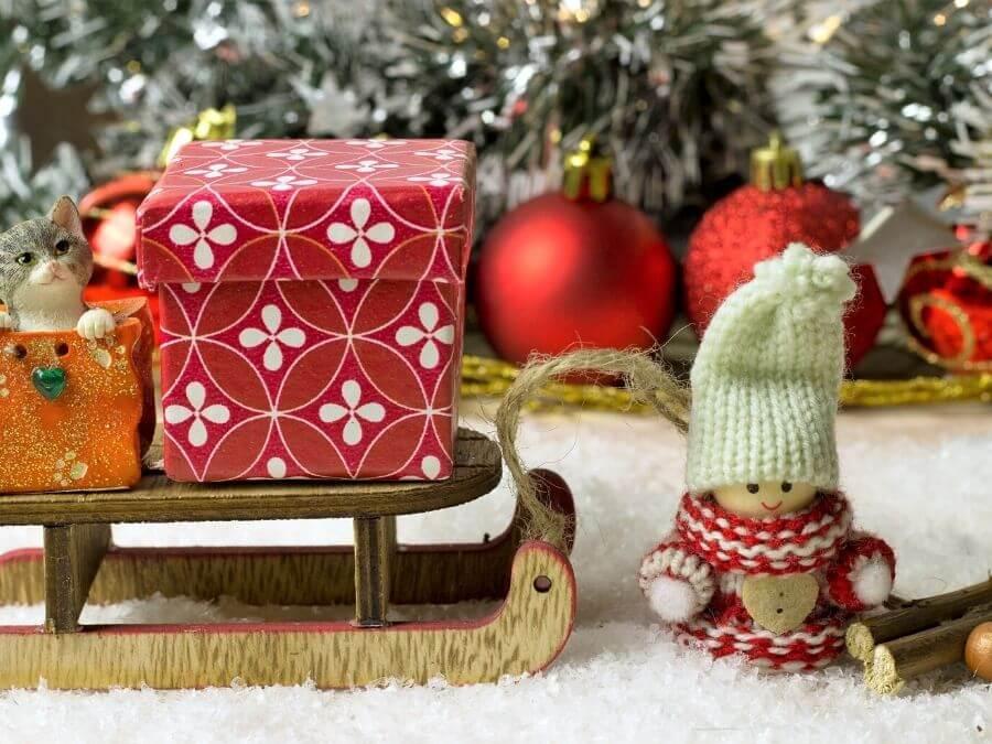 Kerst in je eentje vieren: cadeautjes!