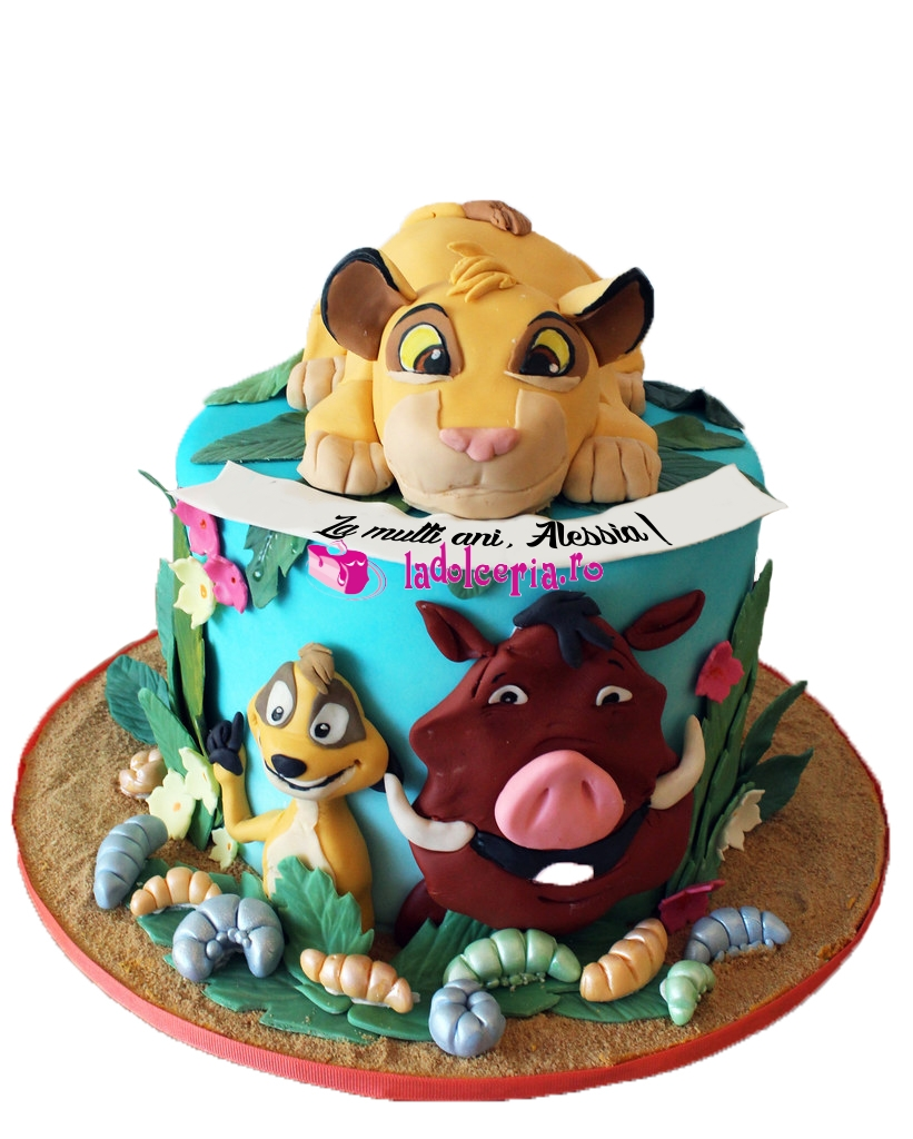 Lions are the majestic mammals known for strength and power. Tort lion king si prietenii - LaDolceria.ro