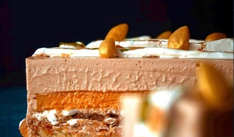 Entremet Cake With Almonds