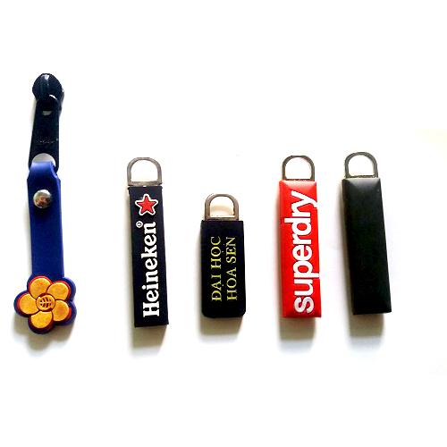 rubber patch- zipper puller