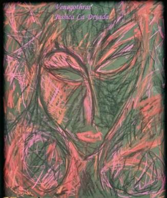 ~ Venegothras ~ Pastel sur papier 50/60cm ~ 2008/2009 ~