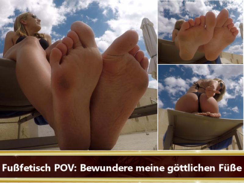 Fußfetisch POV