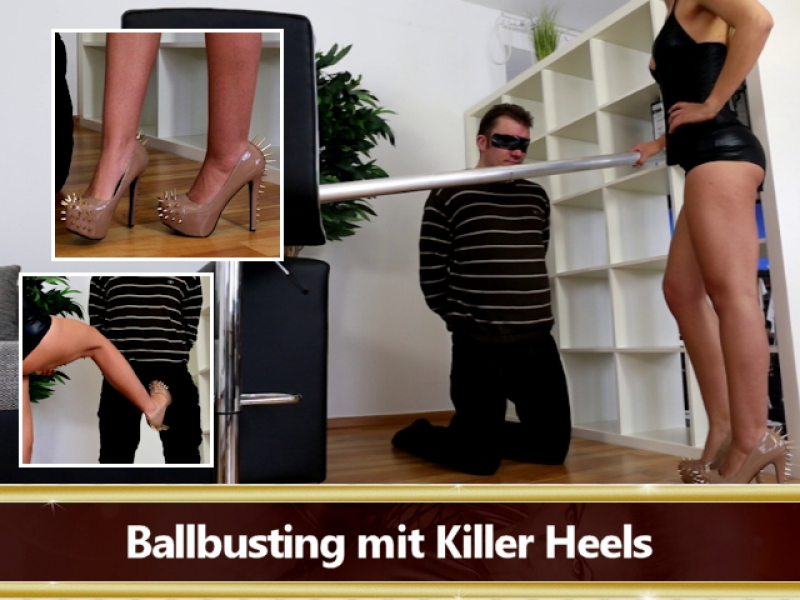 Ballbusting Sklave Herrin