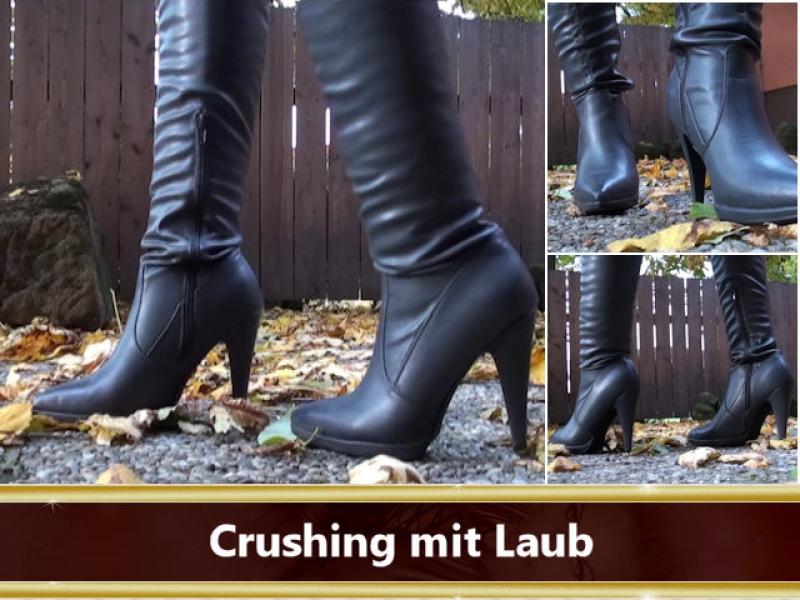 Crushing Laub