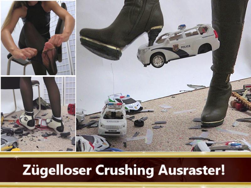 Object Crush - Spielzeugautos crushen