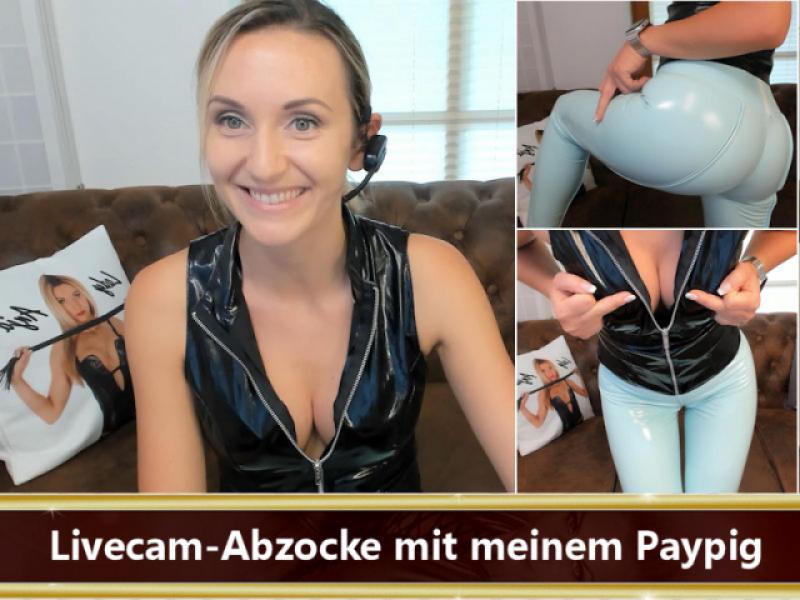 Livecam Abzocke für Paypig
