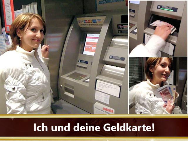 Geldherrin Geldkarte EC Bank