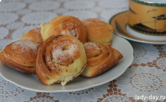 Французские булочки   Простые рецепты с фото