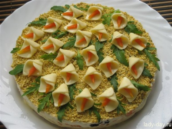 Салаты на день рождения, простые и вкусные: рецепты, фото ...