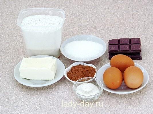 Шоколадные маффины рецепт с фото пошагово   Простые ...