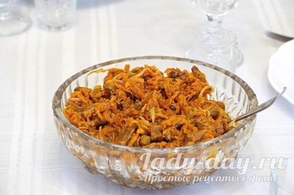Салат из говядины: рецепт с фото очень вкусный пошаговый ...