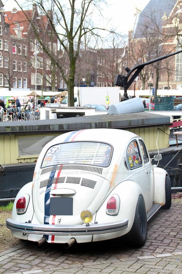 Herbie in Amsterdam verrückter Käfer