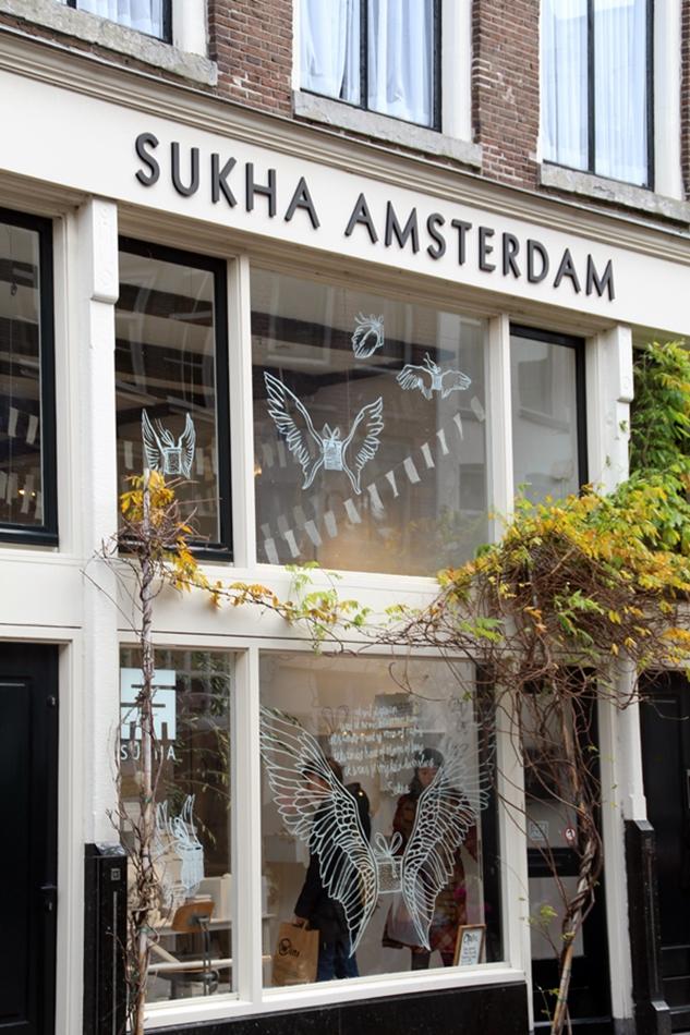 Amsterdam Sukha Eingang