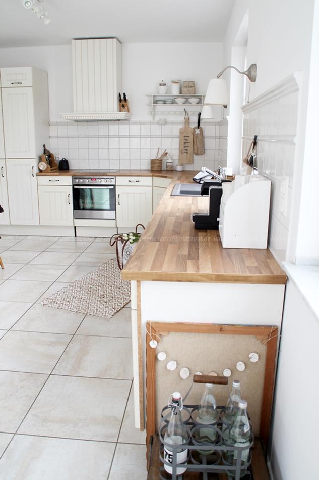 Deko-Donnerstag Vorher/Nachher Renovierung Küche - lady-stil.de