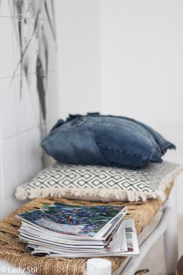 individuell und preiswert, Bettwäsche selber gestalten, DIY mit Anleitung für einen Traumfänger im Boho Look