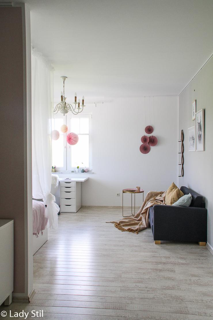 Makeover Mädchen-Kinderzimmer - lady-stil.de