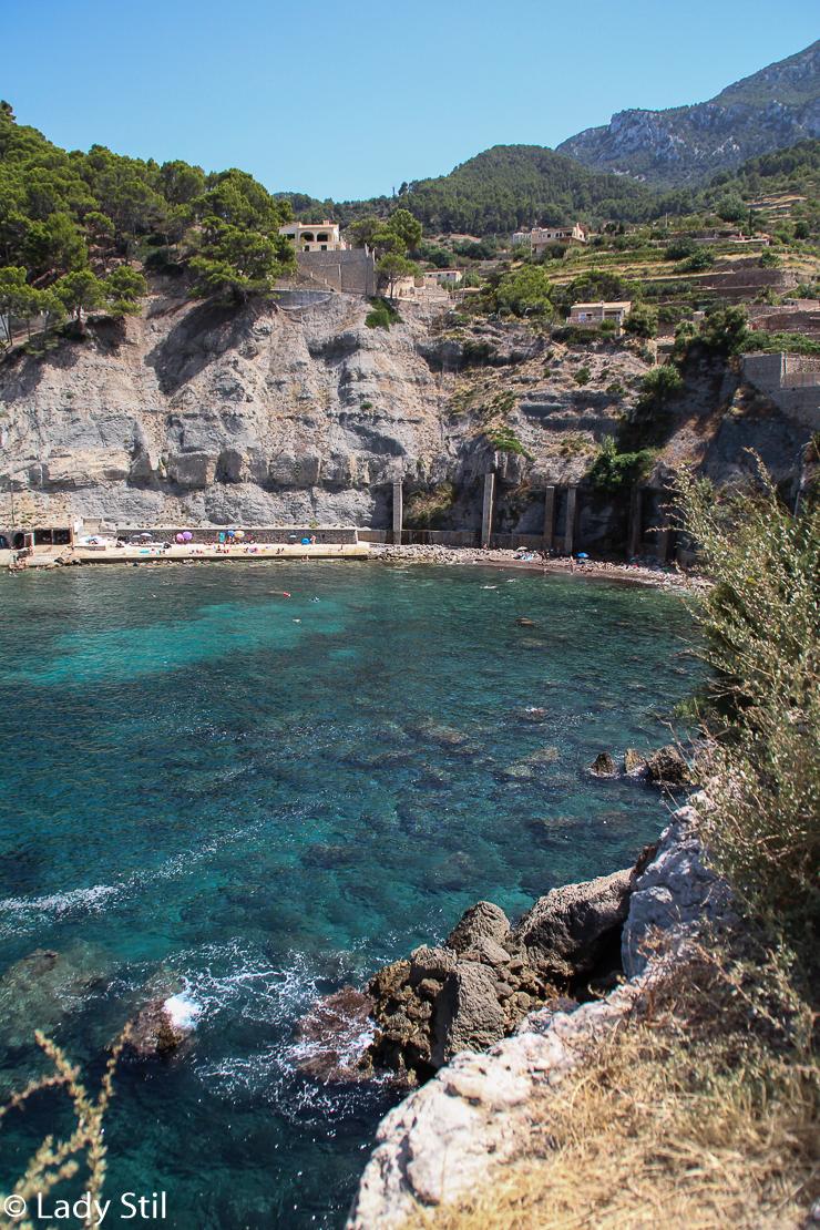 Mallorca Cala Banyalbufar Badebucht