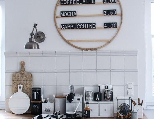 DIY Café Menü Tafel Letter Board