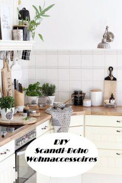 Scandi Boho Wohnaccessoires DIY