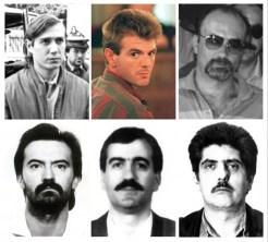 """Juan Manuel Valentin Tejero ,"""" El violador del ascensor """", Miguel Ricard y otros..."""