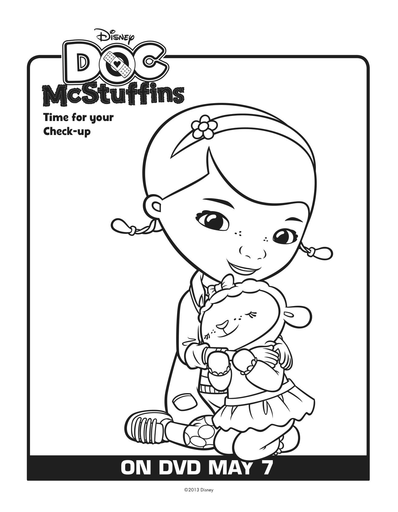 Free Doc Mcstuffins Printables Download Here